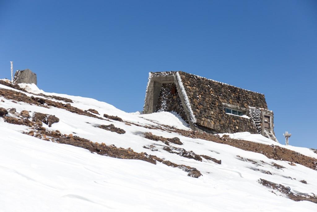刈田岳BC