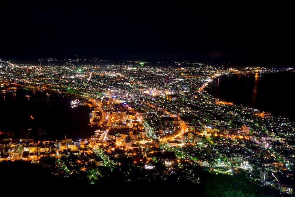 函館の夜景
