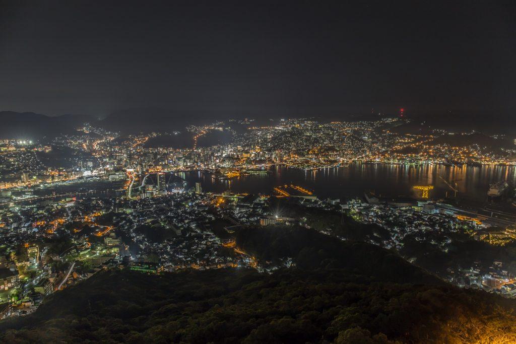 稲佐山からの長崎夜景