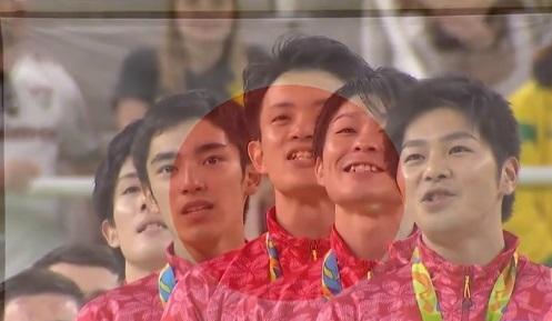 【金メダル】 体操 男子団体
