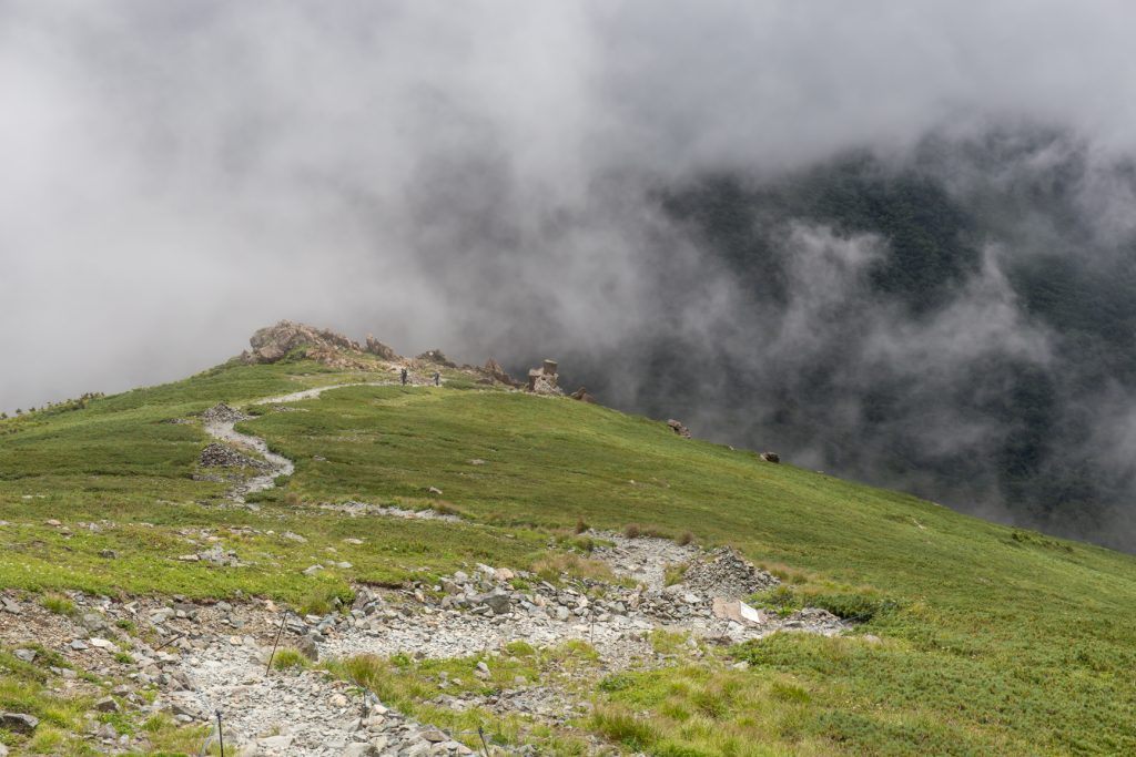 早池峰山 登山