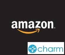 Amazon チャーム合成ロゴ