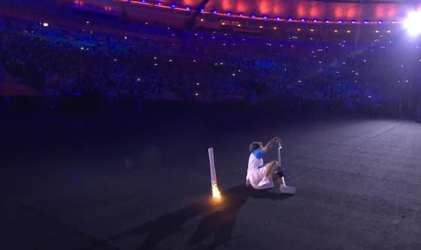 2016リオパラリンピックで感動の聖火リレー