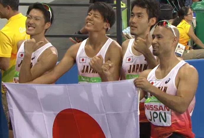 リオパラリンピック 400mリレー