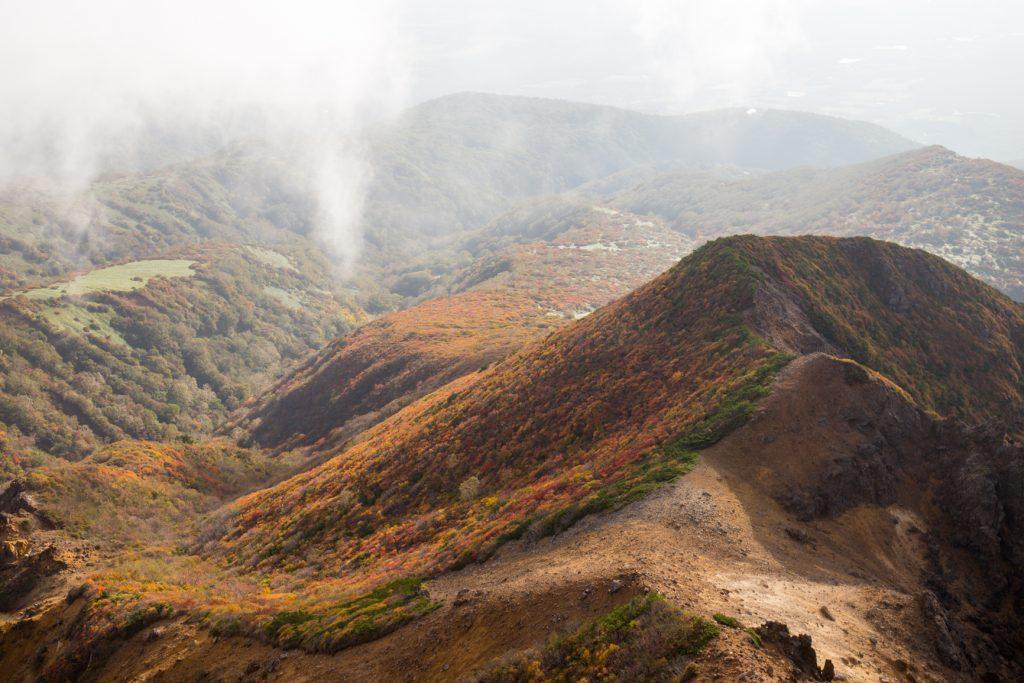 那須岳 紅葉絶景 登山