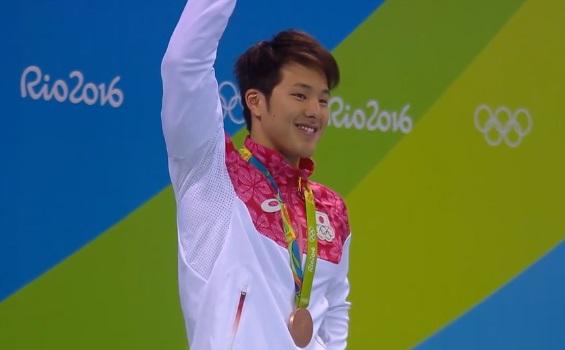 男子400メートル個人メドレー 瀬戸大也 銅メダル