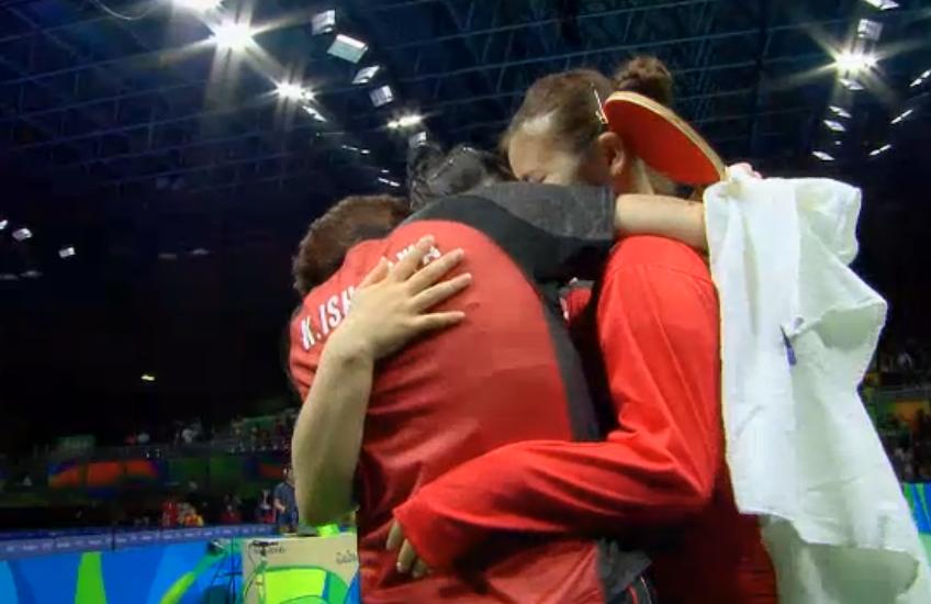 卓球団体女子 銅メダル