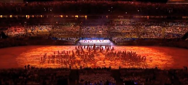 2016リオオリンピック閉会式1