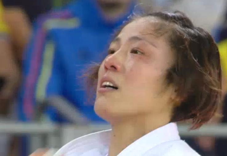 田知本遥選手 金メダル