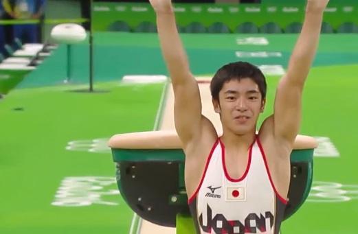 白井健三 銅メダル