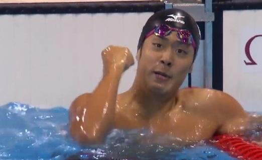 【銀メダル】 水泳 男子200メートルバタフライ 坂井聖人
