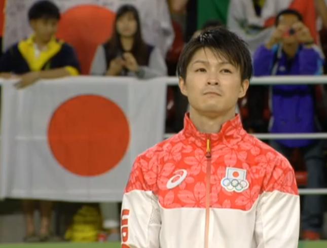 内村航平選手が金メダル