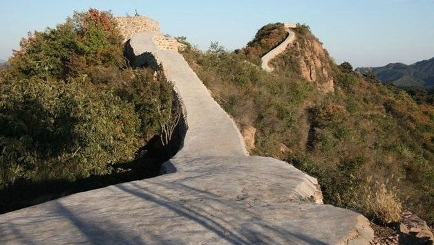 万里の長城 修復後