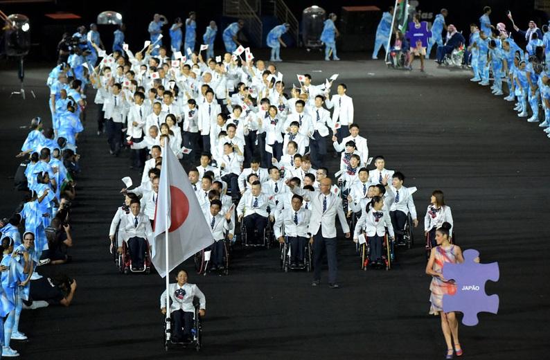 リオパラリンピック 開会式 日本代表